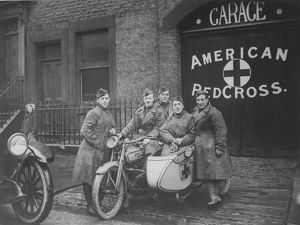 American Red Cross unit in Great Britain