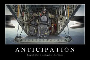 Anticipation: Inspirational Quote and Motivational Poster