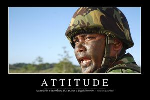 Attitude: Inspirational Quote and Motivational Poster