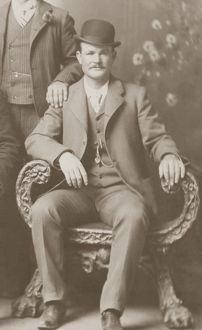 Butch Cassidy in Fort Worth, Texas, 1900