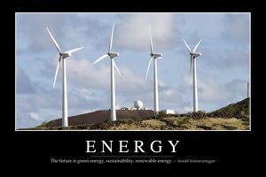 Energy: Inspirational Quote and Motivational Poster