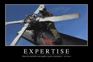 Expertise: Inspirational Quote and Motivational Poster