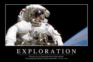 Exploration: Inspirational Quote and Motivational Poster