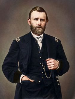 General Ulysses S. Grant amid his service during The American Civil War
