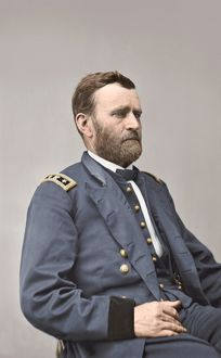 General Ulysses S. Grant of the Union Army