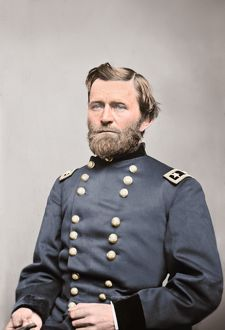 General Ulysses S. Grant of the Union Army, circa 1860