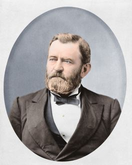 Head-and-shoulders portrait of Ulysses S. Grant
