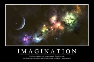 Imagination: Inspirational Quote and Motivational Poster