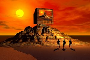 Knowledge of the ancients gave rise to the building of the pyramids