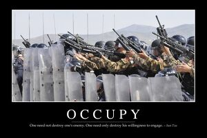 Occupy: Inspirational Quote and Motivational Poster