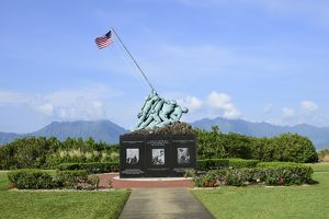 The Pacific War Memorial on Marine Corps Base Hawaii