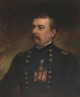Painting of Union Army General Philip Sheridan