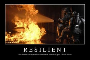 Resilient: Inspirational Quote and Motivational Poster