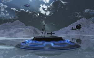 Station 211 alien Nazi Base located in the Antarctic