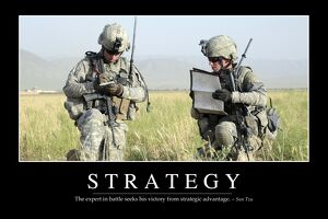 Strategy: Inspirational Quote and Motivational Poster