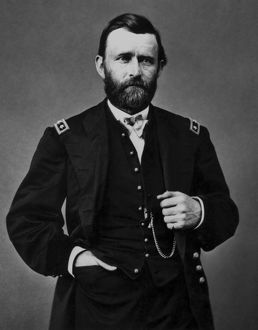 Vintage American History photo of General Ulysses S. Grant